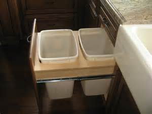 built in trash cans for the kitchen built in trash cans mediterranean trash cans