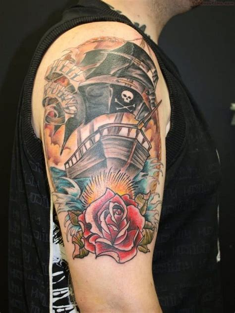 pirate themed tattoos 123 best images about pirate tattoos on the