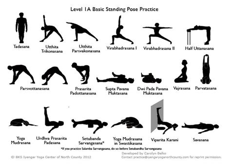 printable simple yoga poses a beginners guide to yoga