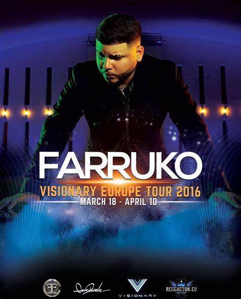 canciones nuevas de farruko 2015 2016 ltimas msicas farruko ansioso por empezar la gira visionary world tour