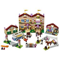 Toy Barn And Farm Animals Lego Friends Inspire Girls Globally Friends Sets 2012