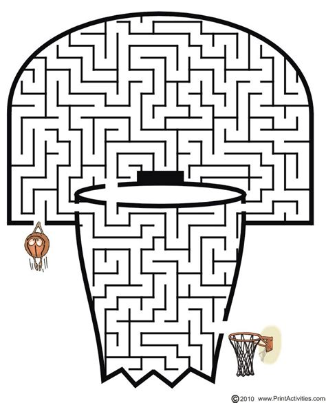 printable maze for preschoolers printable mazes for children i m done ideas pinterest