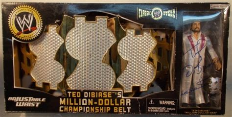 wwf classic superstars signed ted dibiases million