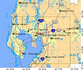 hillsborough county florida map geography of hillsborough county florida
