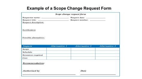 change request log template project blank contract award