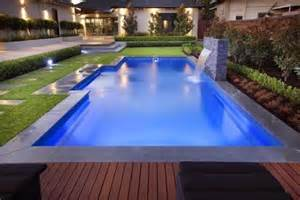 Backyard Stepping Stone Ideas The Majestic Range A Great Fibreglass Swimming Pool This