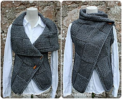 pattern sleeveless cardigan knitting pattern big square wrap womens sleeveless jacket