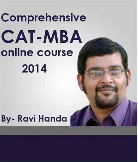 Cat Course For Mba by Comprehensive Cat Mba 2014 Coaching Course Ravi