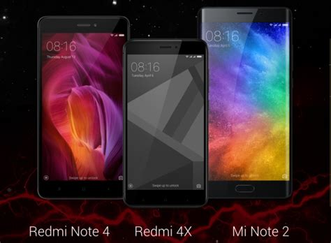 New Xiaomi Mi Note 2 Ram 4gb 64gb Grs Distributor 1 Thn xiaomi redmi 4x mi note 2 and 64gb redmi note 4 all available on lazada today hardwarezone