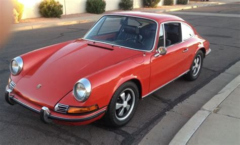 porsche red paint code seller of classic cars 1971 porsche 911 bahia red