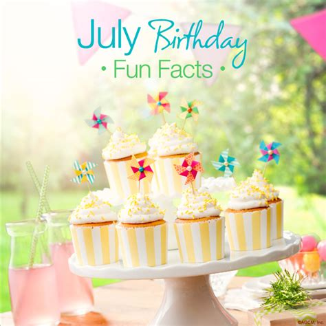 july birthday fun facts american  blog