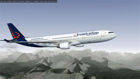 brussels airlines r駸ervation si鑒e flightgear forum view topic airbus a330 200 series