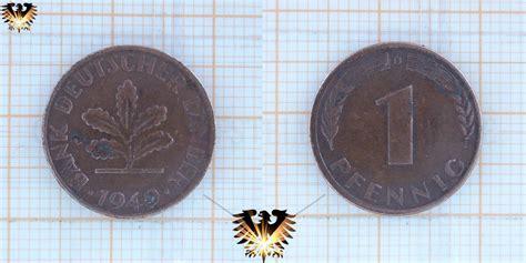 goldankauf deutsche bank 1 pfennig 1949 bank deutscher l 228 nder m 252 nze 1948 1949