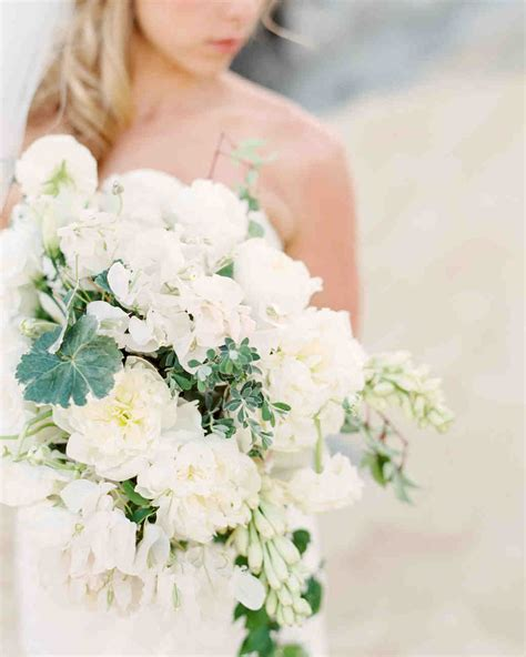 White Wedding Bouquets For Brides by 40 Chic Cascading Wedding Bouquets Martha Stewart Weddings