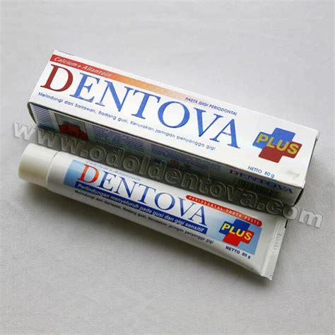 Pasta Gigi Dentova Plus pasta gigi dentova plus dengan tea tree dan vitamin c dentova