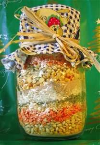 Soup mix in a jar from food com i made this for xmas gifts last year