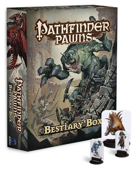 starfinder pawns archive pawn box books paizo pathfinder pawns bestiary box