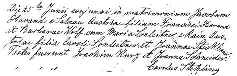 Czechoslovakia Birth Records Jacob Harrand And Sonnleitner