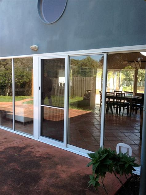 Sliding Glass Door Awning by Aluminium Sliding Door Awning Window Combination