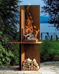 feuerstellen leipzig kaminofen barbecue de garten metallgestaltung