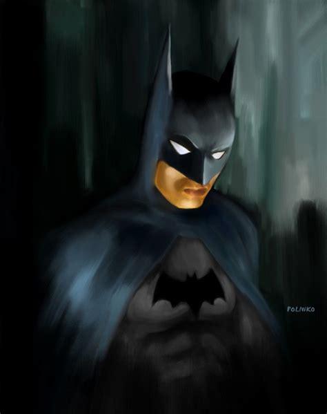 painting batman joker the of nik poliwko