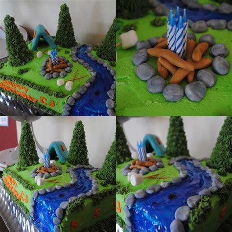 boy scout cupcake decorations design c