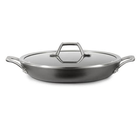 Teflon Wok Pan non stick frying pan with lid size of verdi 11 green