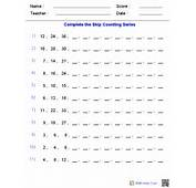 Patterns Worksheets  Dynamically Created
