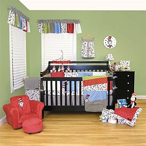 Dr Seuss Crib Bedding Sets Buy Trend Lab 174 Dr Seuss Cat In The Hat 3 Crib Bedding Set From Bed Bath Beyond