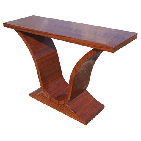 Rosewood Sofa Table Deco Rosewood Console Sofa Table For Sale At 1stdibs