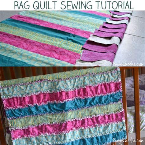 rag quilt sewing tutorial