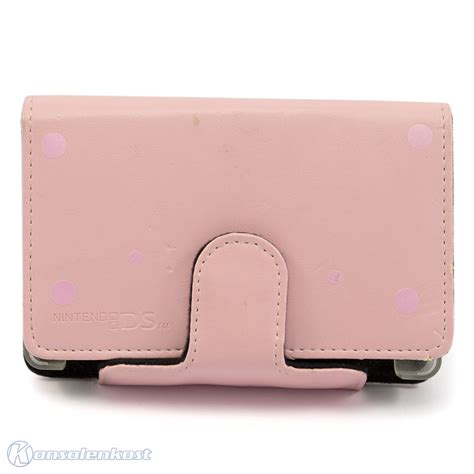Psjel Pink Original nintendo ds lite original leder tasche leather bag pink