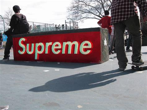 Supreme 3d Premium supreme logo gif
