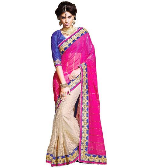 Yesha Set yesha creations pink cotton saree buy yesha creations