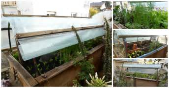garten hochbeet vom hochbeet zum mini gew 228 chshaus dach selber bauen