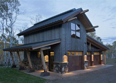 rustic barn designs rustic outside wood and tin doors beams garage doors