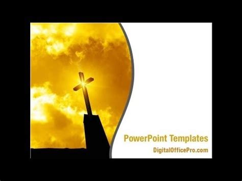 Church Powerpoint Template Backgrounds Digitalofficepro 00426 Youtube Church Powerpoint Templates Free