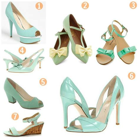 mint green wedding shoes 82 best mint my wedding images on bridesmaid