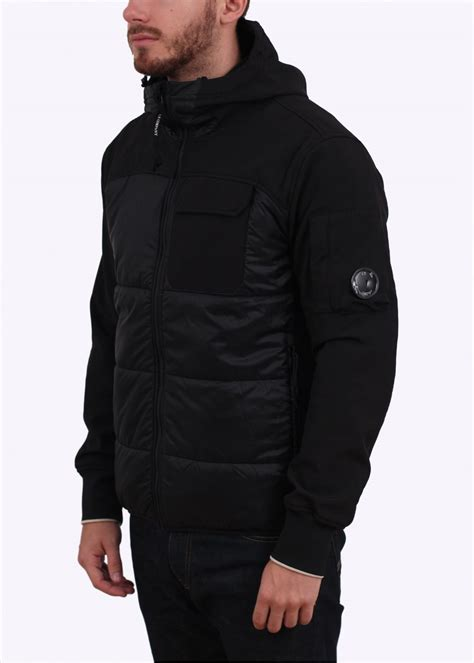 Cp Jaket Nike Do It cp company soft shell hooded lens jacket black