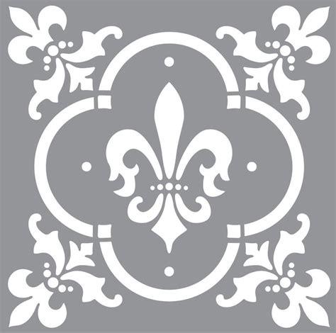 decoart americana decor 12 quot x12 quot stencil fleur de lis