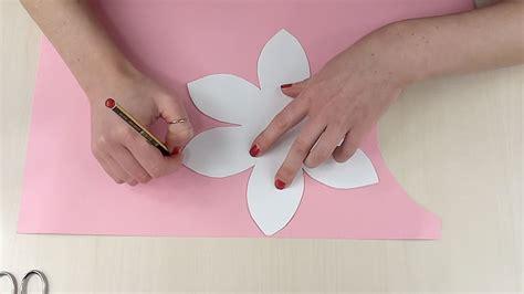 per fare un fiore come fare un portacandela con fiore di carta tutorial
