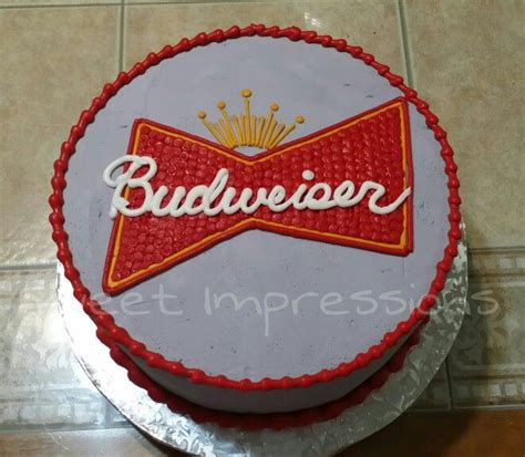 budweiser cake 25 best ideas about budweiser cake on