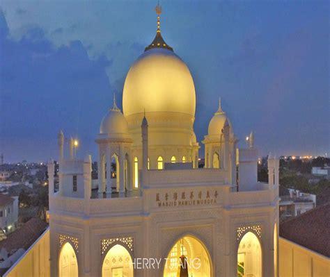 masjid ramlie musofa keindahan masjid modern ala taj mahal