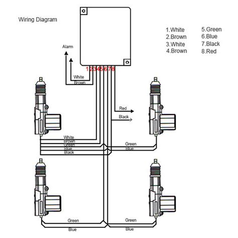 electric  door windows power kit  door car central lock conversion universal ebay