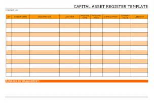 asset template 10 best images of asset register format asset register