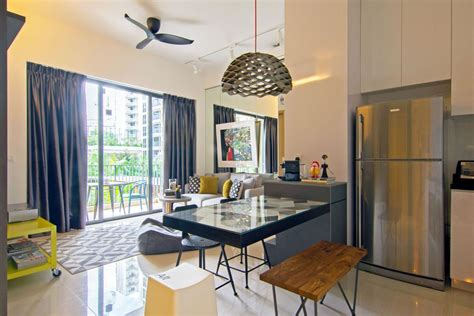 singapore apartment renovation by knq dining table home