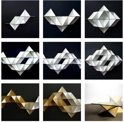 T Shelf by 12 Ridiculously Beautiful And Useful Origami Infused