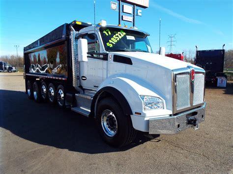 kenworth trucks 2017 2017 kenworth t880 dump trucks for sale 202 used trucks