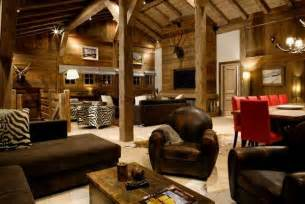 Wood Home Decor Ideas by Gorgeous Homes In Alpine Chalet Style Country Home