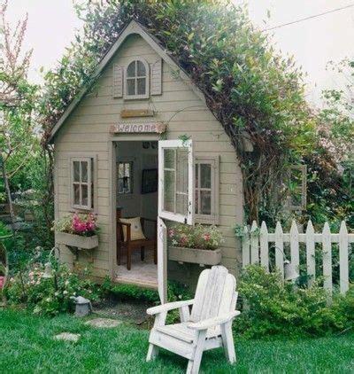 quaint garden shed guest house